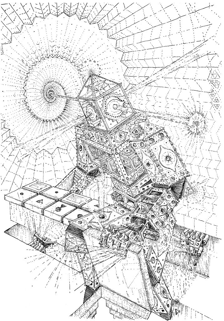 Dimensional authority, drawing by DMT vision